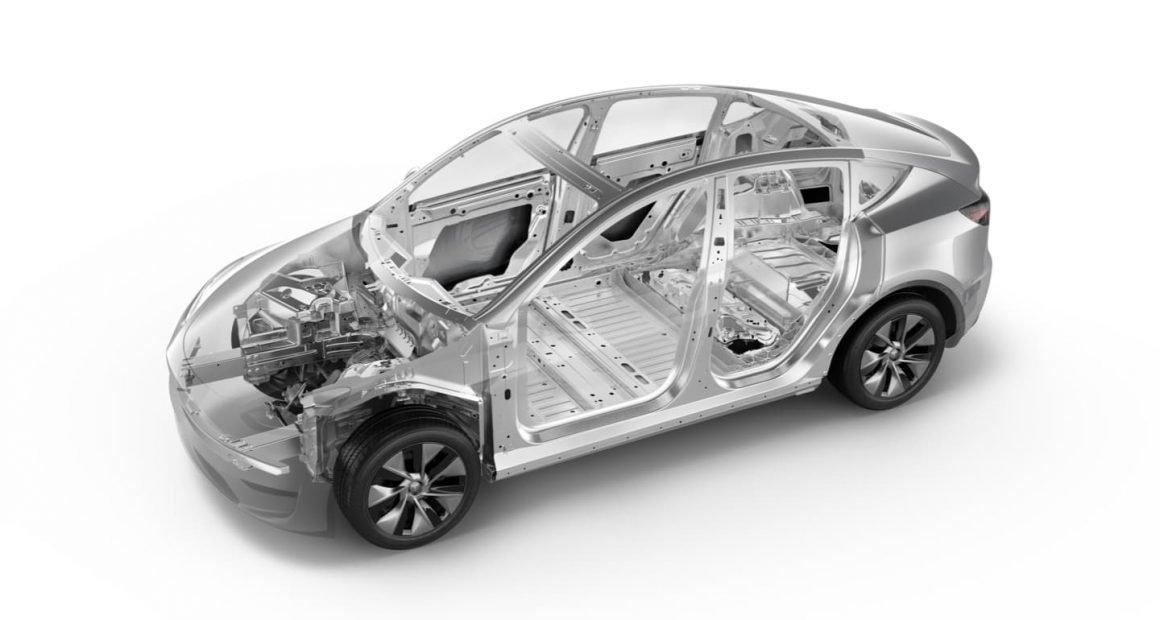 Tesla Model Y Frame