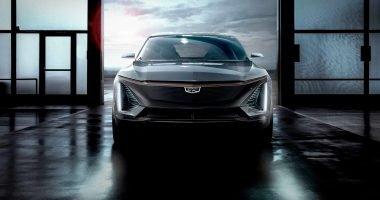 Cadillac EV front view