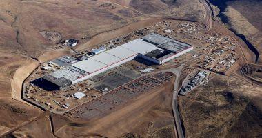 Tesla Gigafactory 1 outside of Reno, Nevada
