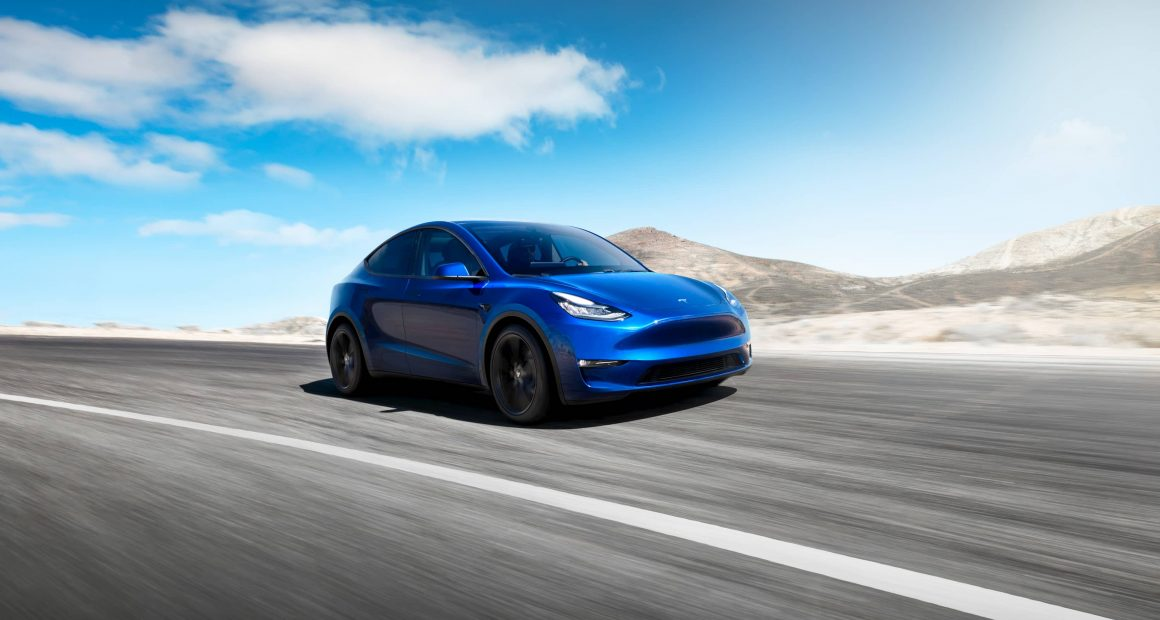 Model Y Front View